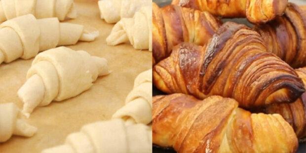 """Domácí francouzské croissanty: """"Moc měkké, prostě tají v ústech"""""""