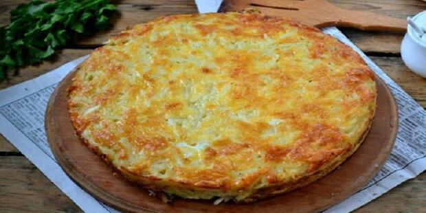 """Bramborový nákyp ze strouhaných bramborů se sýrem a česnekem: """"Chutný, oblíznete všech deset"""""""