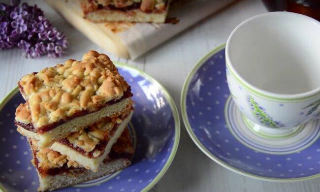 Jablečný koláč. Foto: snímek obrazovky YouTube