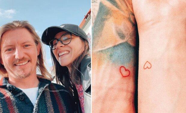 """""""Slyšíte mě všichni, tohle je láska"""": Eva Burešová a Přemek Forejt oslavili rok vztahu. Pochlubili se společným tetováním. Reakce fanoušků"""