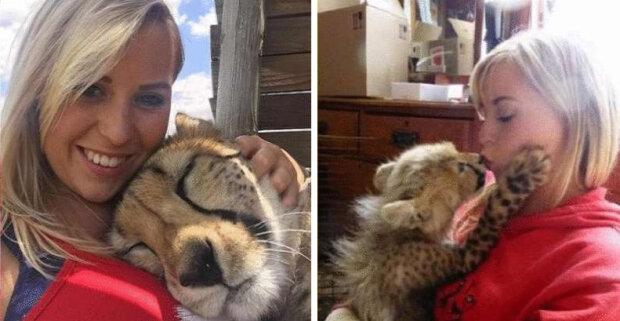 """""""Nemohla jsem ho dát do útulku"""": jak dívka zachránila život velké dravé kočky"""