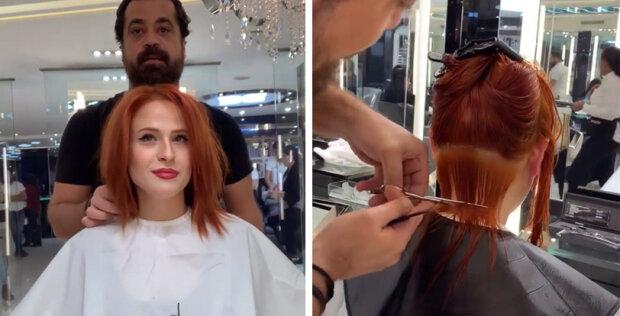 """Žena požádala, aby vizuálně zmenšila """"dlouhý nos"""": kadeřník vytvořil zázrak"""