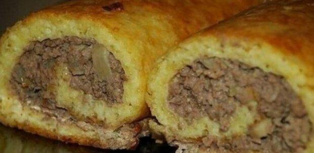 """Velký bramborák s masem: """"Rychle vařte a stačí pro každého"""""""