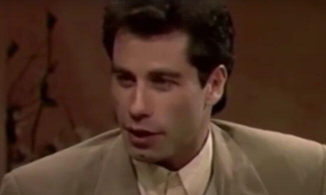 John Travolta. Foto: snímek obrazovky YouTube