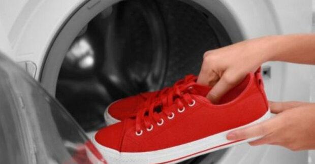 Existuje několik důležitých pravidel praní obuvi v pračce