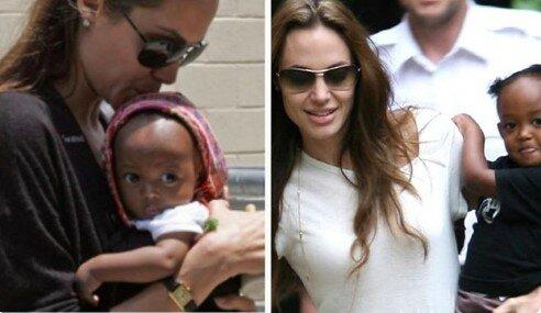 """""""Její bezedné oči se mi navždy otiskly do srdce"""": před 15 lety Angelina Jolie adoptovala etiopskou holčičku"""