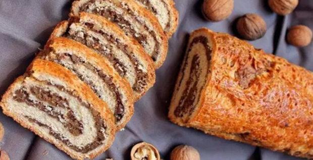 """Ořechový závin k čaji: """"Recept, který zaslouží o místo v kuchařce"""""""