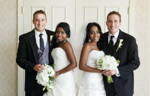 Sestry dvojčata se provdala za bratry-dvojčata a už mají děti