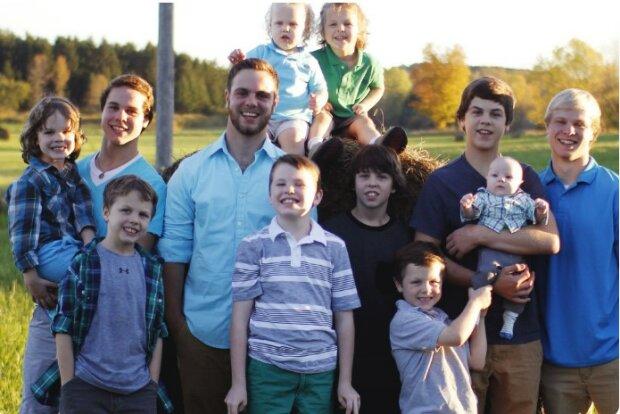"""""""Poslední pokus"""": v rodině, kde je čtrnáct chlapců, se narodilo patnácté dítě"""